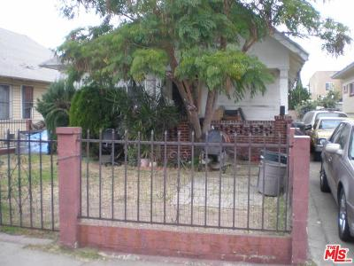 Los Angeles Single Family Home For Sale: 223 West 46th Street