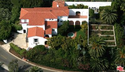 Pacific Palisades CA Single Family Home For Sale: $6,995,000