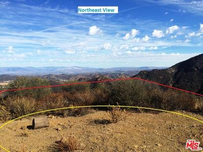 Malibu Residential Lots & Land For Sale: Mulholland Hwy