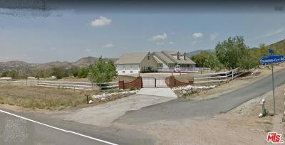 Agua Dulce Single Family Home For Sale: Deerglen Lane
