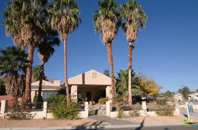 Cathedral City Single Family Home For Sale: 38895 Paradise Way