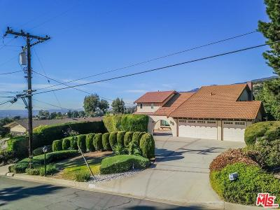 Bradbury Single Family Home For Sale: 275 Spinks Canyon Road