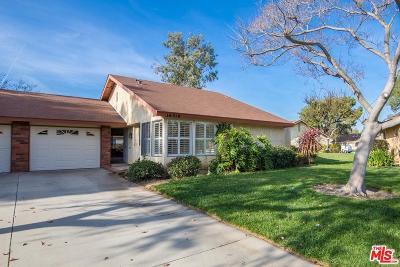 Camarillo Single Family Home For Sale: 16319 Village 16