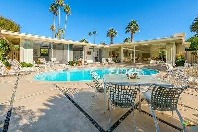 Palm Springs Single Family Home For Sale: 318 West Pablo Drive