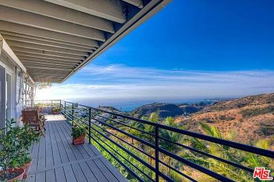 Los Angeles County Single Family Home For Sale: 2801 Corral Canyon Road