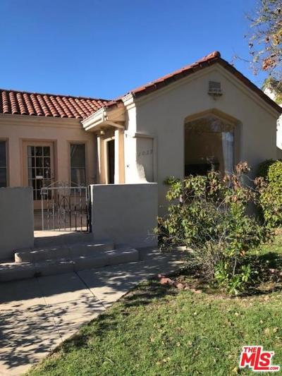 Los Angeles Single Family Home For Sale: 1039 Hi Point Street