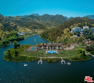 Agoura Hills, Calabasas, Westlake Village, Oak Park, Thousand Oaks Single Family Home For Sale: 473 Lower Lake Road
