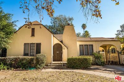 Single Family Home For Sale: 744 North Vista Street