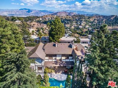 Sunset Strip - Hollywood Hills West (C03) Single Family Home For Sale: 2407 Hercules Drive