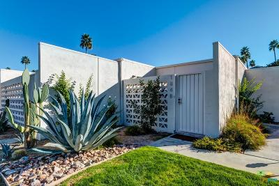 Palm Springs Condo/Townhouse For Sale: 1848 Sandcliff Road Road