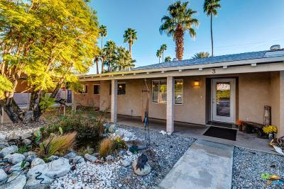 Palm Springs Single Family Home For Sale: 3 Warm Sands Place