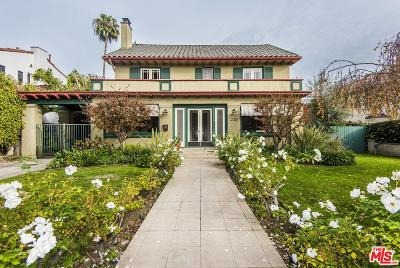 Single Family Home For Sale: 210 North Van Ness Avenue