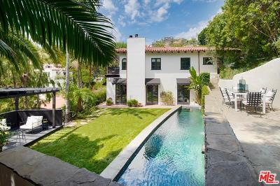 Sunset Strip - Hollywood Hills West (C03) Single Family Home For Sale: 8157 Laurel View Drive