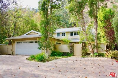 Single Family Home For Sale: 1449 Benedict Canyon Drive