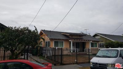 Los Angeles Single Family Home For Sale: 730 West 49th Place
