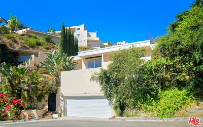 Sunset Strip - Hollywood Hills West (C03) Single Family Home For Sale: 1790 Viewmont Drive