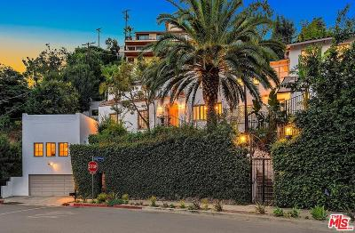 Sunset Strip - Hollywood Hills West (C03) Single Family Home For Sale: 8195 Hollywood