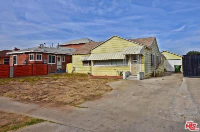 Inglewood Residential Income For Sale: 3717 West 107th Street
