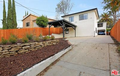 Los Angeles Single Family Home For Sale: 1122 El Paso Drive