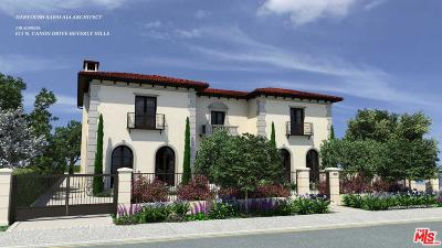 Beverly Hills Residential Lots & Land For Sale: 615 North Canon Drive