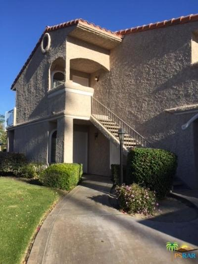 Palm Springs Condo/Townhouse For Sale: 505 South Farrell Drive #J62