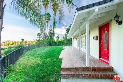 Encino Single Family Home For Sale: 16640 Oak View Drive