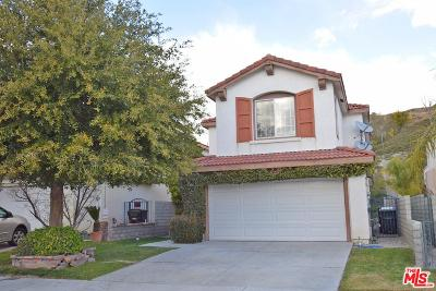 Stevenson Ranch Single Family Home For Sale: 25745 Hammet Circle