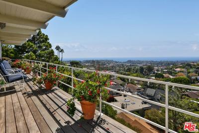 Pacific Palisades CA Single Family Home For Sale: $2,795,000