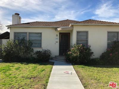 Single Family Home For Sale: 3943 McLaughlin Avenue