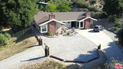 Los Angeles County Single Family Home For Sale: 38705 San Francisquito Canyon Road