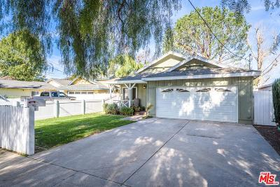Northridge Single Family Home For Sale: 18621 Napa Street