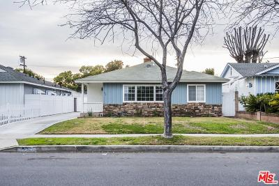 Burbank Single Family Home For Sale: 533 North Florence Street
