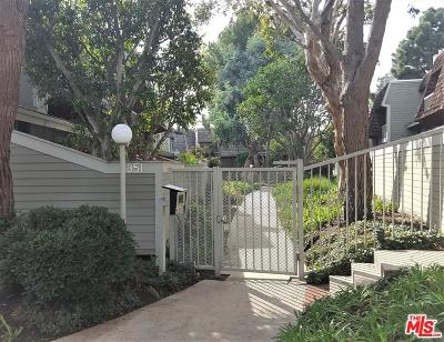 Los Angeles County Condo/Townhouse For Sale: 4351 Redwood Avenue #6
