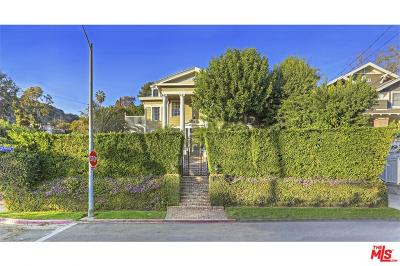 Los Angeles Single Family Home For Sale: 7529 Franklin Avenue