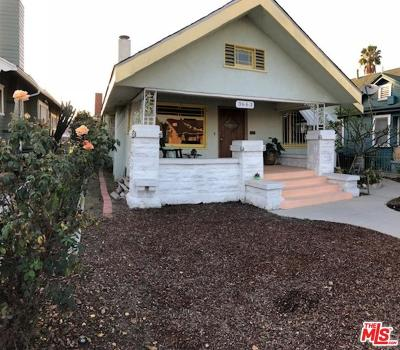 Los Angeles Single Family Home For Sale: 3663 2nd Avenue