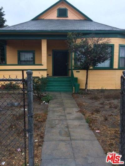 Los Angeles Single Family Home For Sale: 1006 East 24th Street