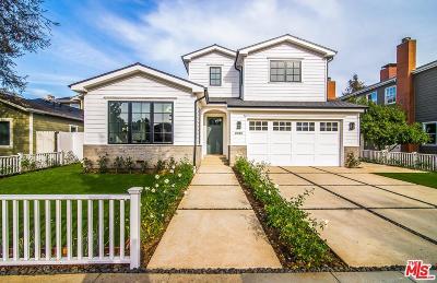 Santa Monica CA Single Family Home For Sale: $3,995,000