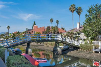 Venice Single Family Home For Sale: 2620 Grand Canal