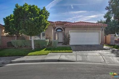 Palm Springs Single Family Home For Sale: 3724 Aloe Grove Way