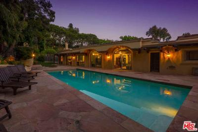 Pacific Palisades CA Single Family Home For Sale: $3,750,000
