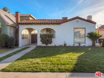 Los Angeles Single Family Home For Sale: 3814 West 59th Street