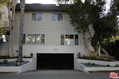 Condo/Townhouse For Sale: 1314 16th Street #E