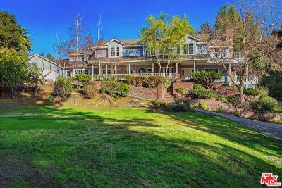 Calabasas Single Family Home For Sale: 1056 Meadows End Drive