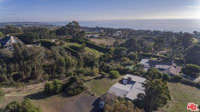 Malibu CA Single Family Home For Sale: $2,400,000