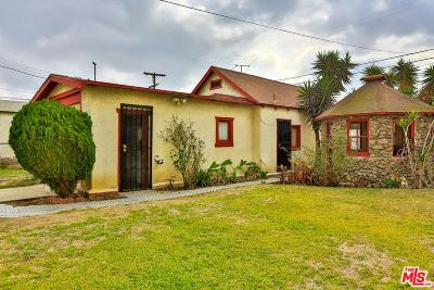 Los Angeles Single Family Home For Sale: 1226 East 77th Place