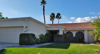 Palm Desert Single Family Home For Sale: 40585 Meadow Lane