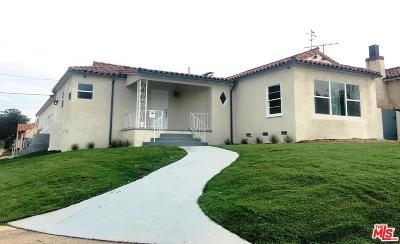 Los Angeles Single Family Home For Sale: 9200 South Harvard
