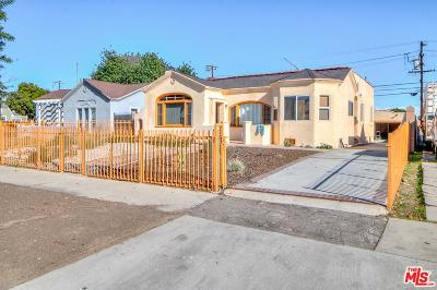 Los Angeles Single Family Home For Sale: 5708 South Victoria Avenue