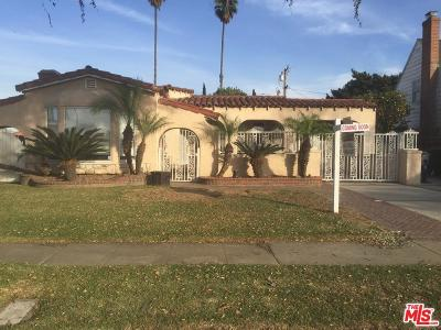 Inglewood Single Family Home For Sale: 9222 South 2nd Avenue