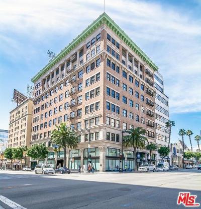 Los Angeles Condo/Townhouse For Sale: 1645 Vine Street #610